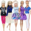 7 5 Pcs Lot Handmade Mini Dress Mixed Style Wedding Party Wear Skirt Lace Gown Clothes for