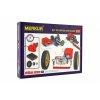 Stavebnice MERKUR 2.2 Pohony a převody v krabici 36x27cm
