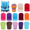 Baby Stroller Seat Cushion Pushchair High Chair Pram Car Colorful Soft Mattresses Carriages Seat Pad Stroller 0