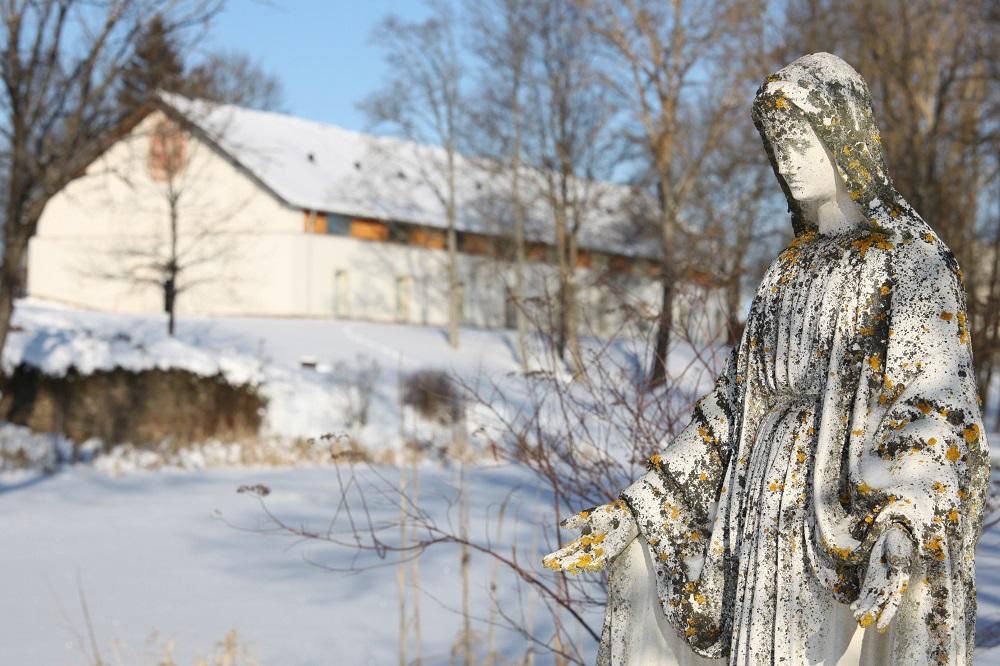 Jak prožívají mrazivé zimní dny v klášteře Trapistů v Novém Dvoře?