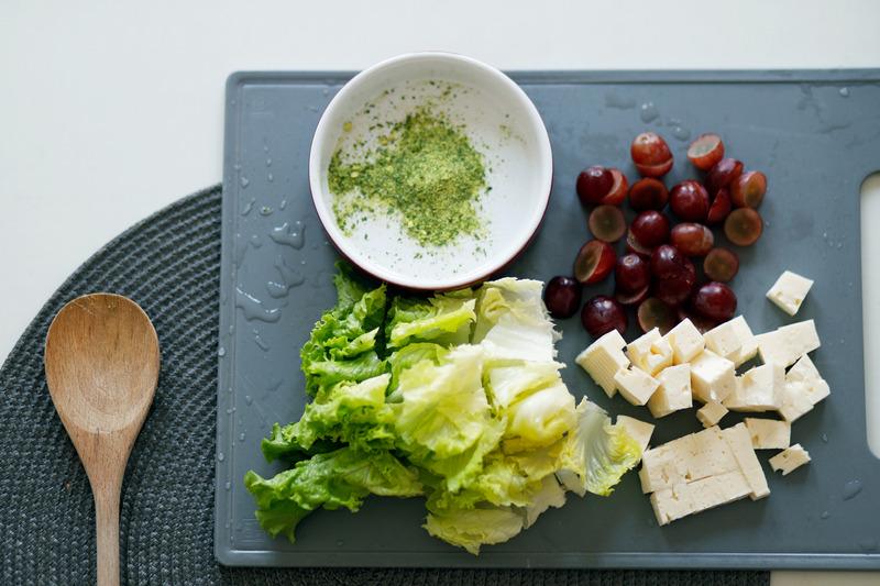 Recept - Auvergneský salát se zelenou čočkou, Novodvorskou hořčicí a bylinkovým octem