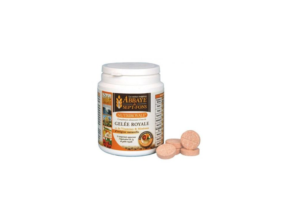 Nutriroyale vitaminy s materi kasickou Klaster Sept Fons Francie