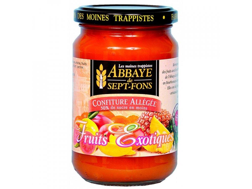 Dzemy vyberovy s nizsim obsahem cukru Exoticke ovoce Klaster Sept Fons Francie