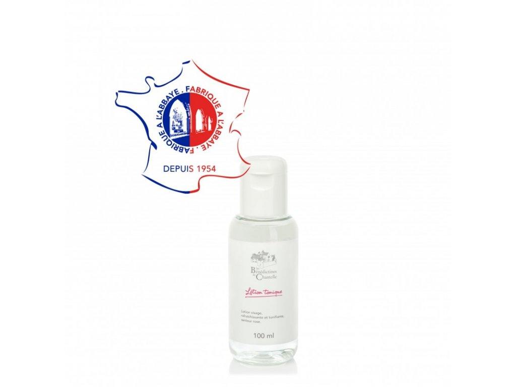 Hydratacni tonikum na oblicej s vuni damasske ruze 100ml Klaster Chantelle Francie