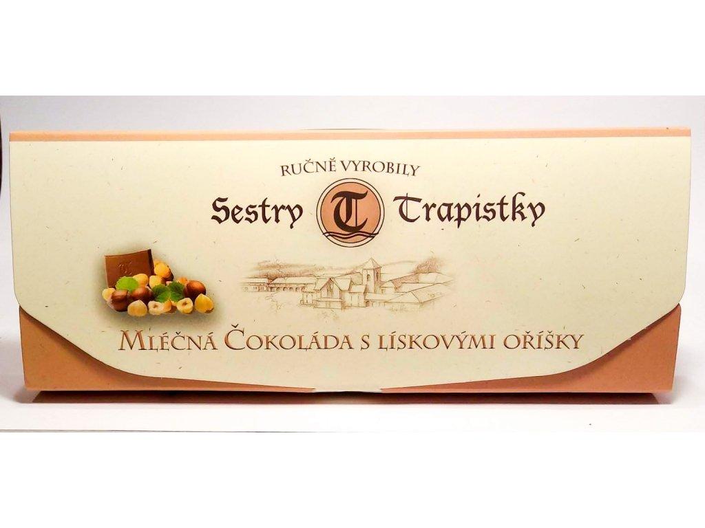 Mlecna cokolada s liskovymi orisky V