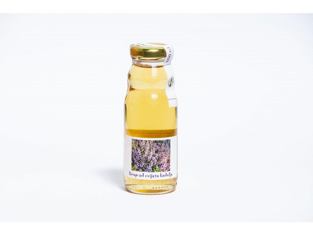 Sirup z kvetu salveje 200 ml klaster Rab Chorvatsko