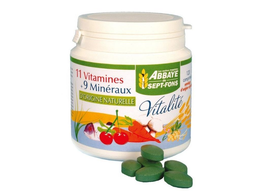 Vitalité - 11 vitamínů a 9 minerálů přírodního původu