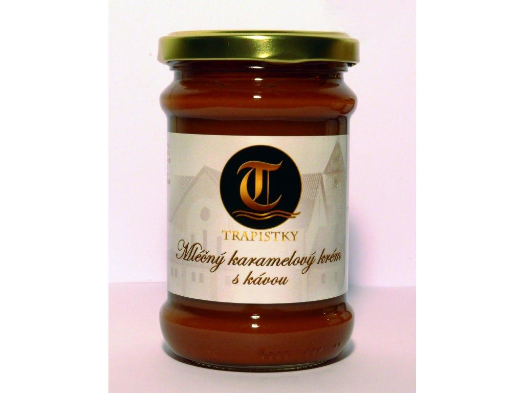 mlecne karamelovy krem Kavovy 300g klaster Policany Cesko v2