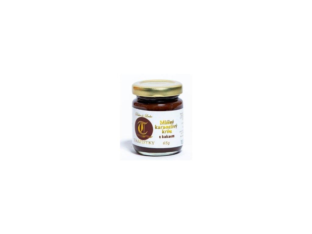mlecne karamelovy krem Kakaovy 65g klaster Policany Cesko v1