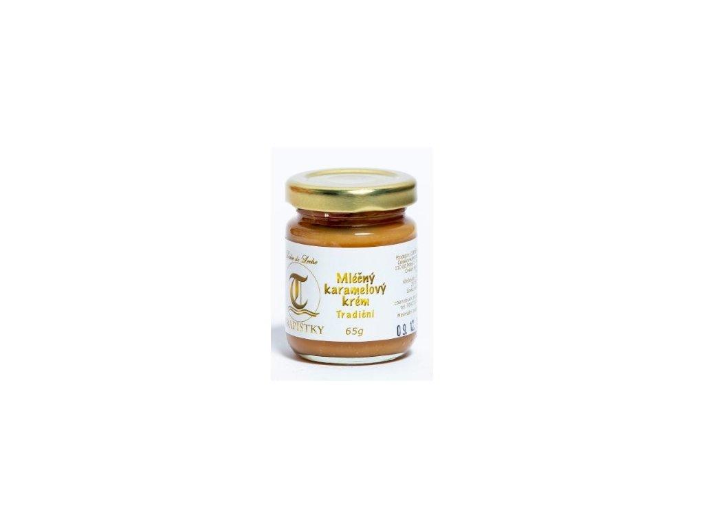 mlecne karamelovy krem Tradicni 65g klaster Policany Cesko v1