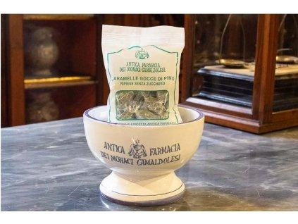 Borovicove bonbony bez cukru Klaster Camaldoli Italie