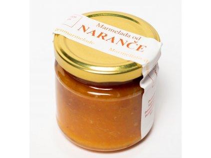 Marmelada pomerancova 210g Klaster Rab Chorvatsko