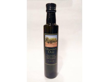 Olivovy olej 250ml Ovcarna predni strana