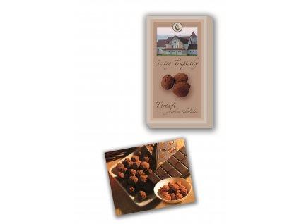 Tartufi - hořká čokoláda