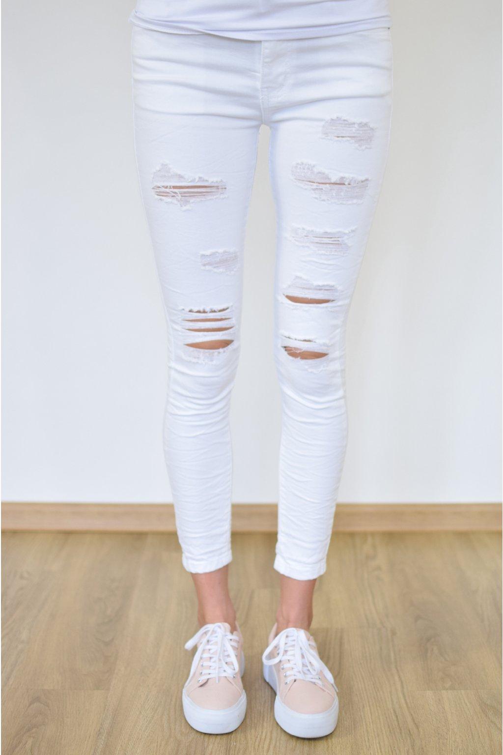 Bílé džíny TURKU