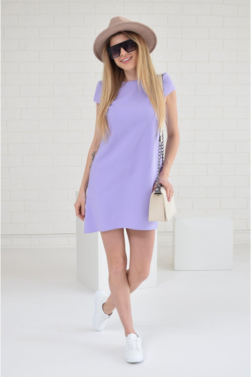 Fialové šaty PHOENIX