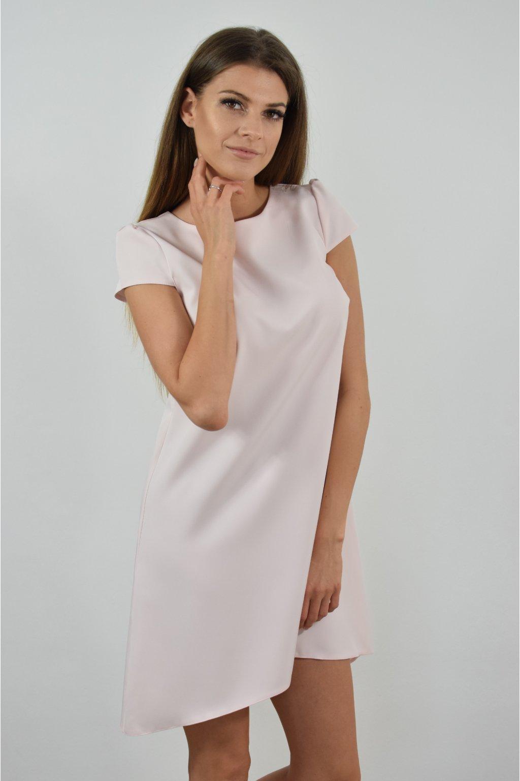 Světle růžové šaty PHOENIX