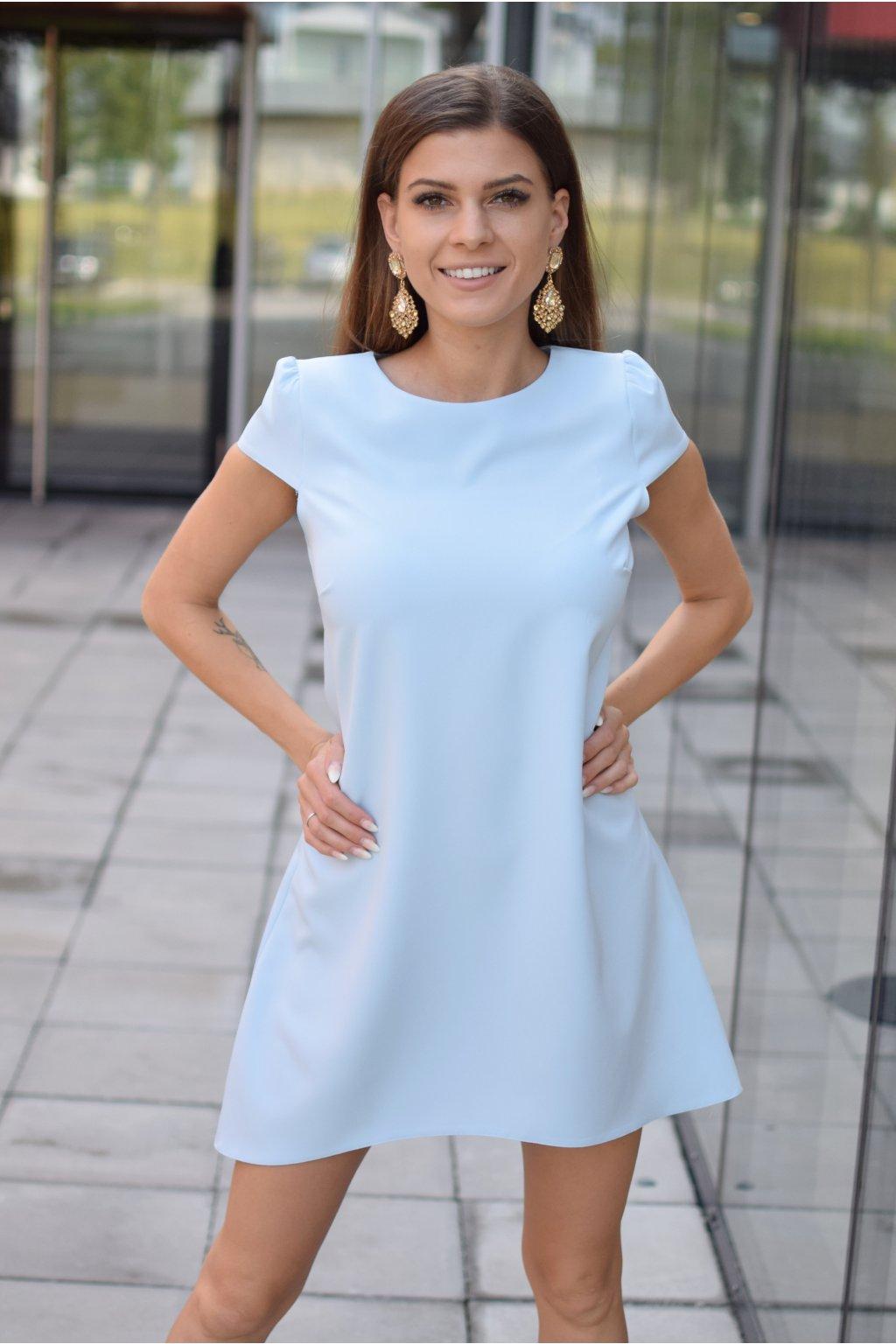 Nebesky modré šaty PHOENIX