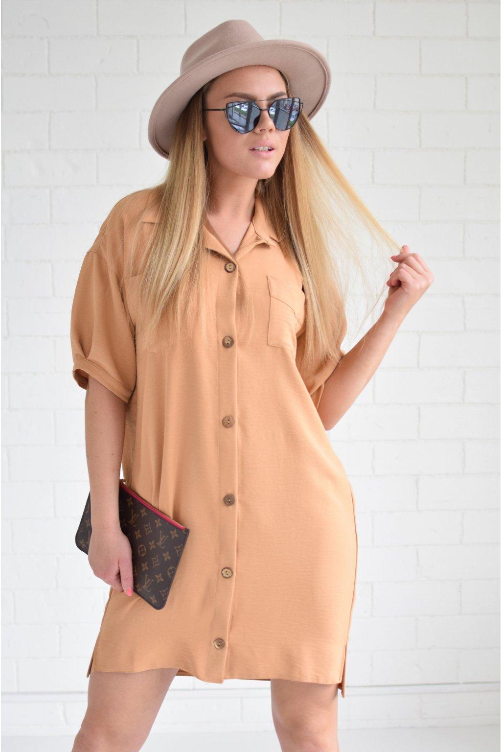 Košilové šaty MODENA