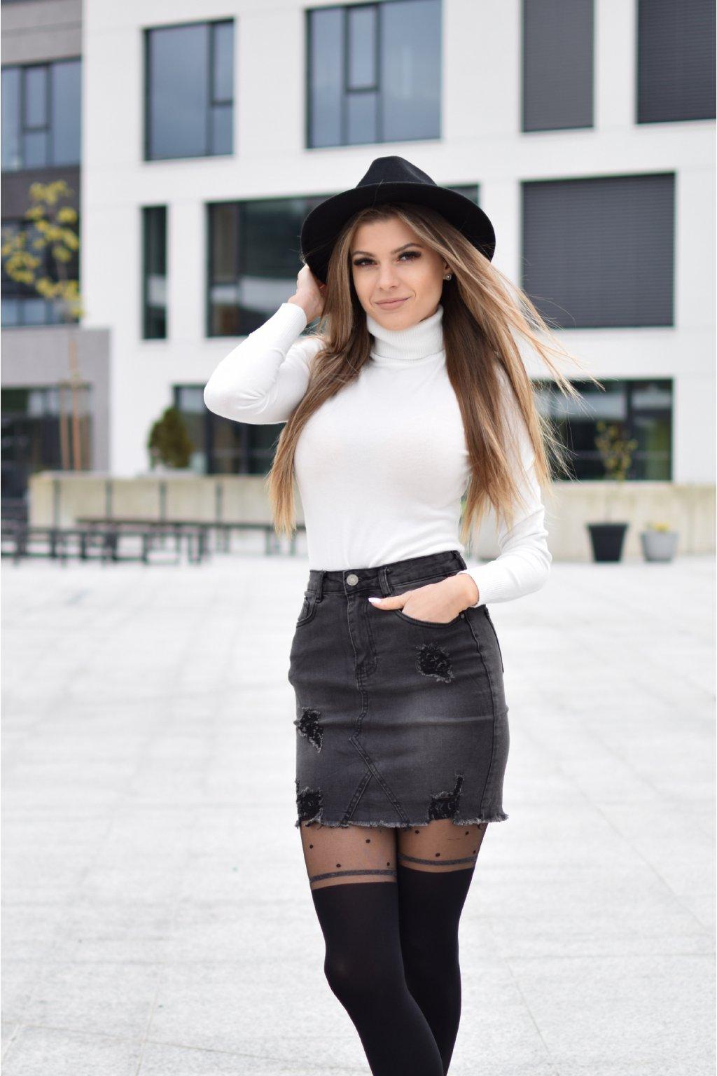 Džínová sukně ANJA