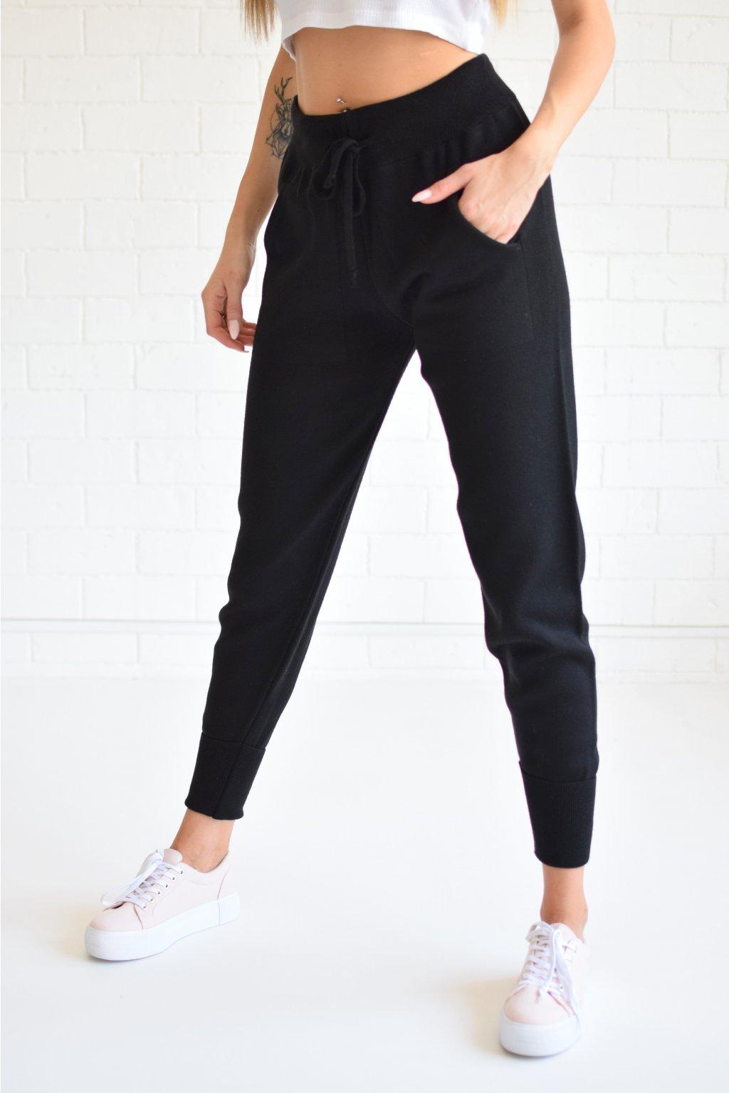 Svetrové kalhoty AVRIL