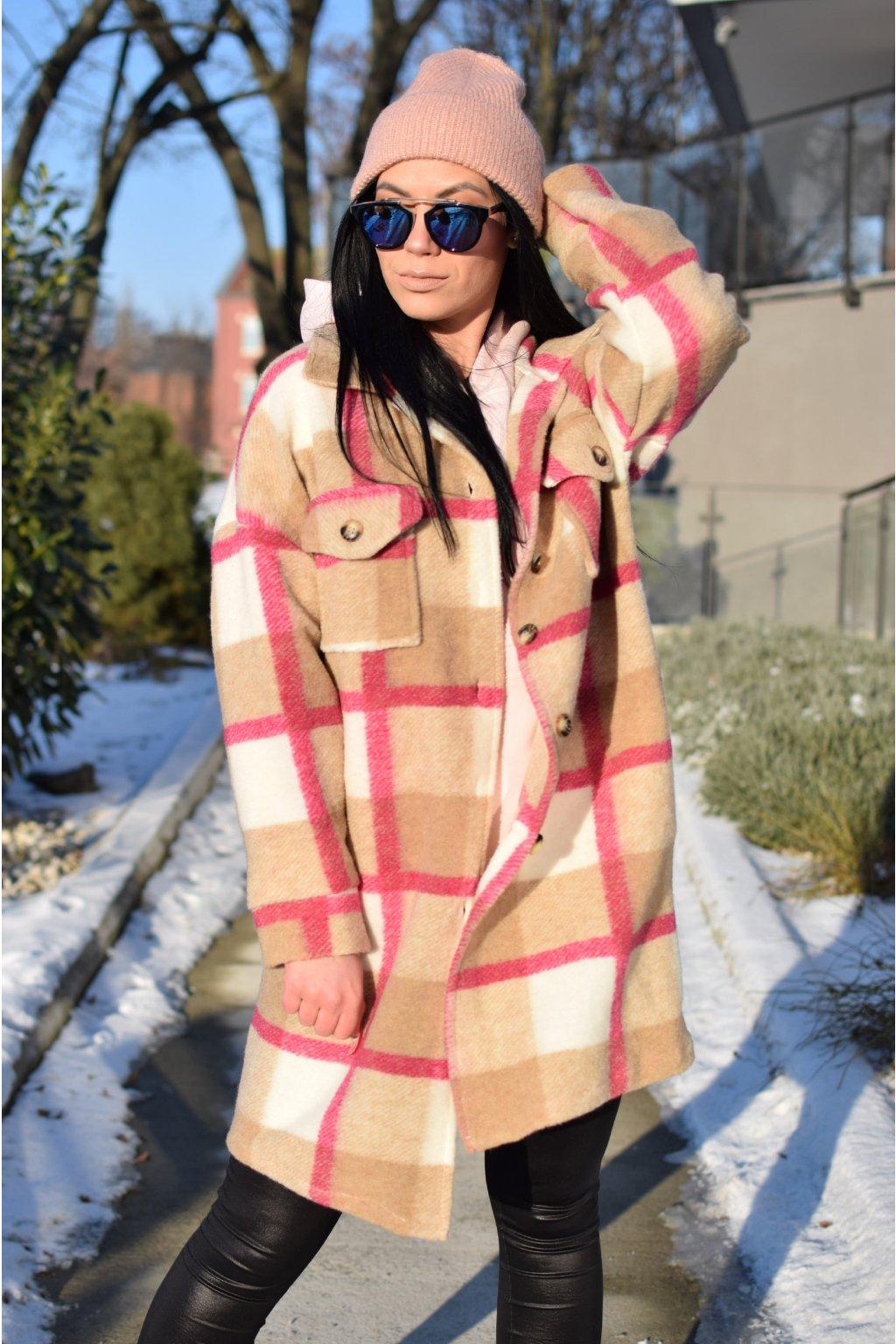 Hnědý kabát ROSA