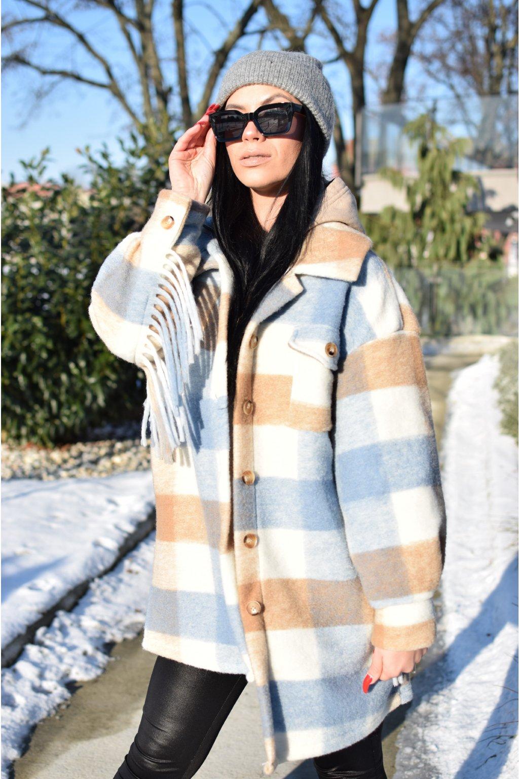 Modrý kabát TINA