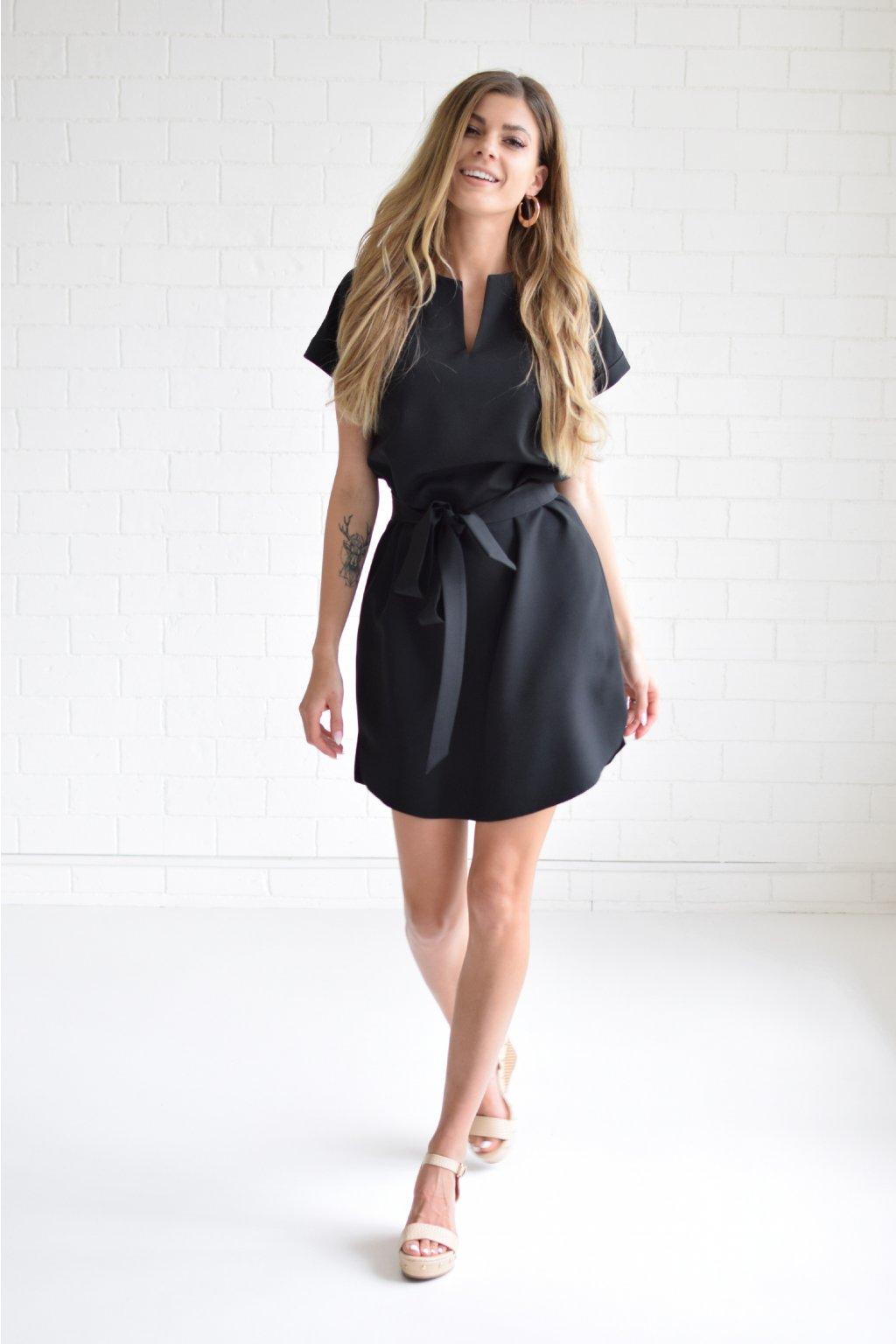 Černé šaty KLARA