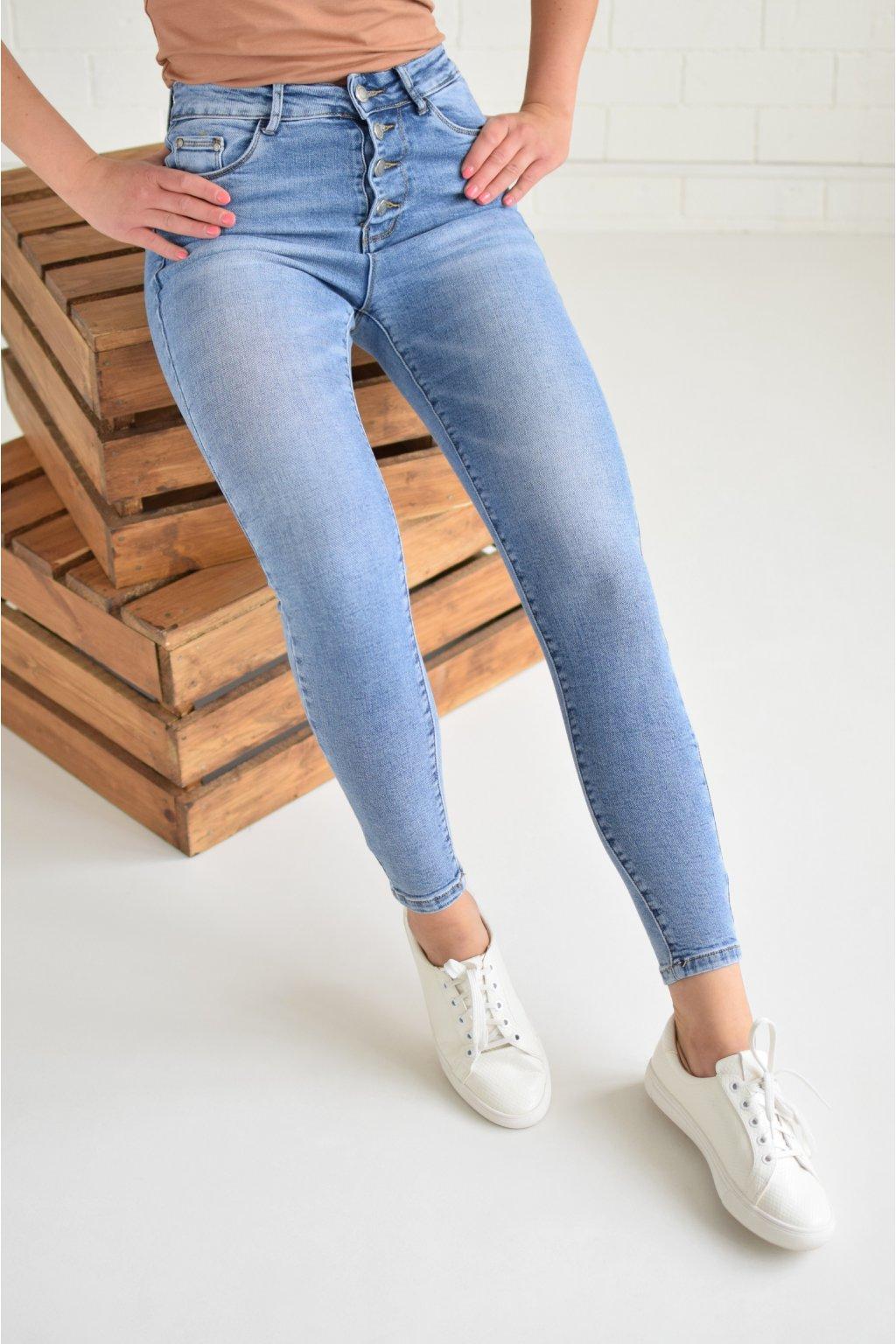 Tmavě modré džíny JENNIFER