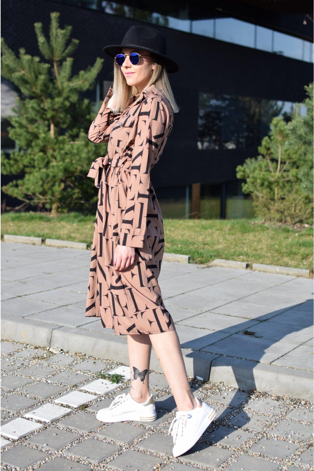 Dlouhé šaty PAULINA