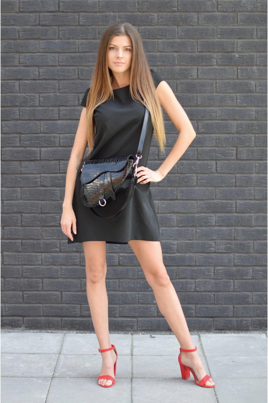 Černé šaty PHOENIX