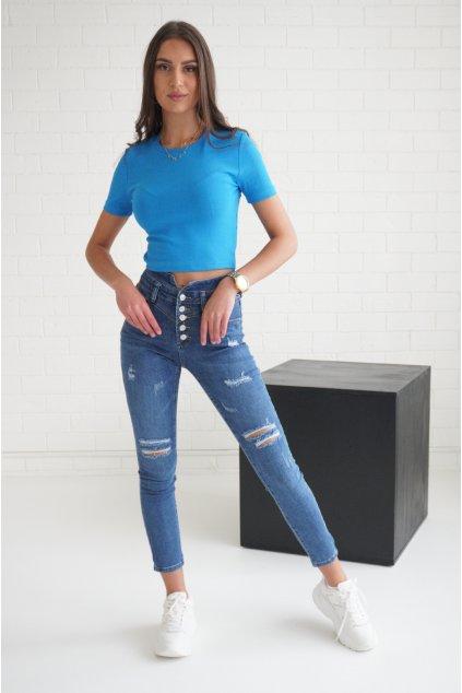 Tmavě modré džíny VICTORIA