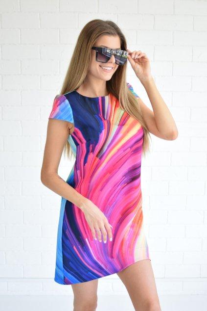 Barevné šaty PHOENIX