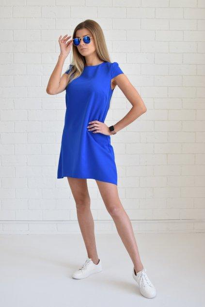 Tmavě modré šaty PHOENIX