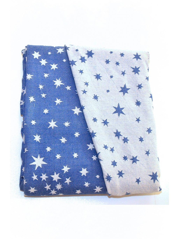 Šátek na nošení dětí MoniLu Eclipse Stars