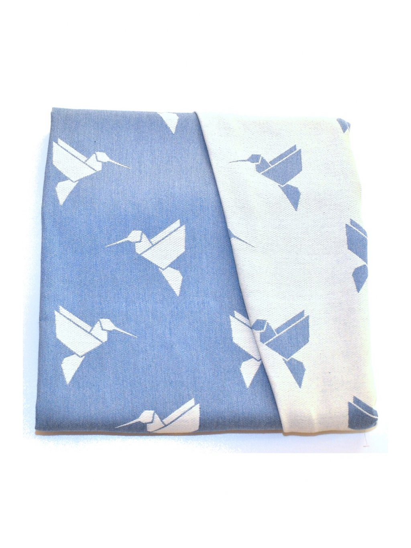 Šátek na nošení dětí MoniLu Colibri Sky