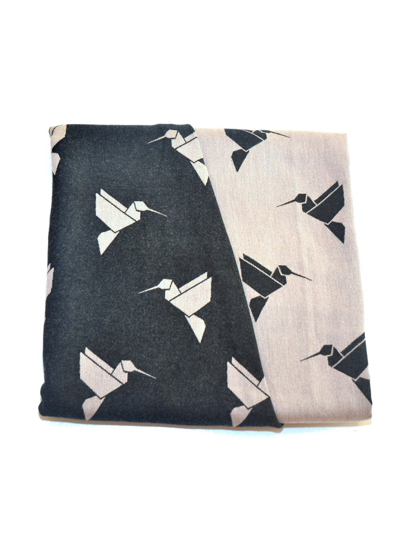 Šátek na nošení dětí MoniLu Colibri Sand