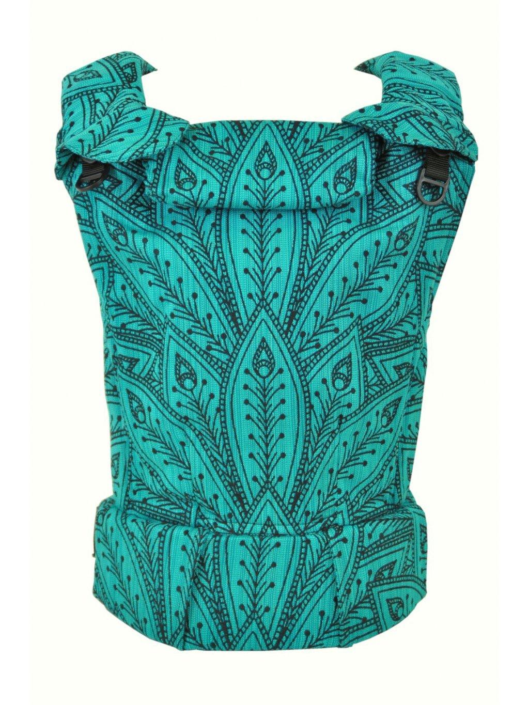 Nositko MoniLu UNI Peacock Smaragd a