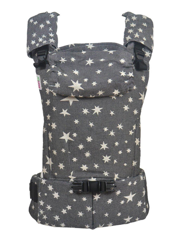 Baby Carrier MoniLu UNI Start Coal Stars