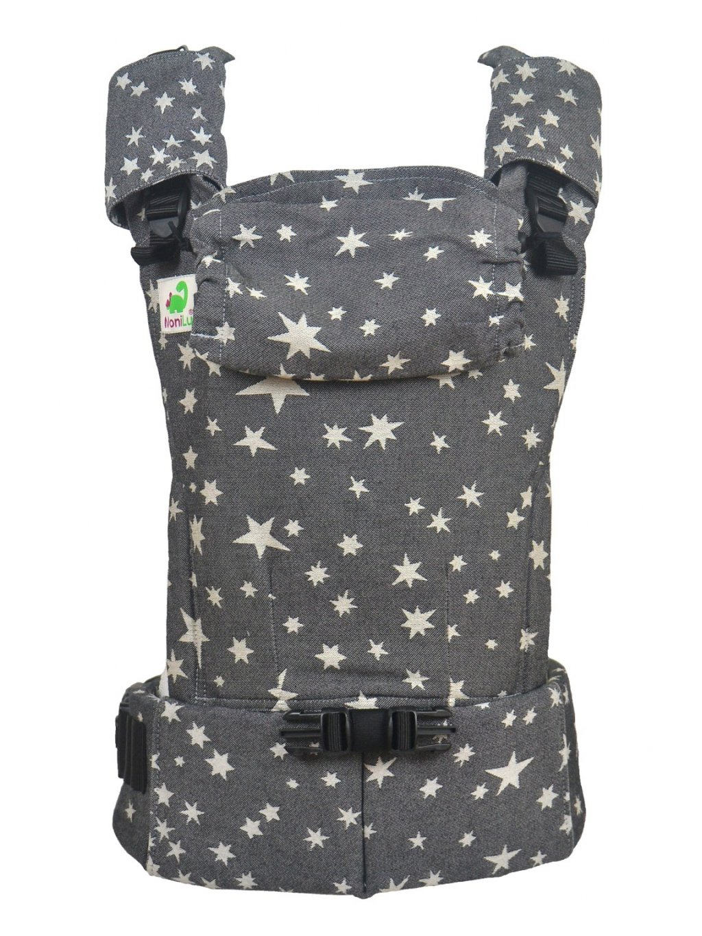 Baby Carrier MoniLu UNI Start Coal Stars
