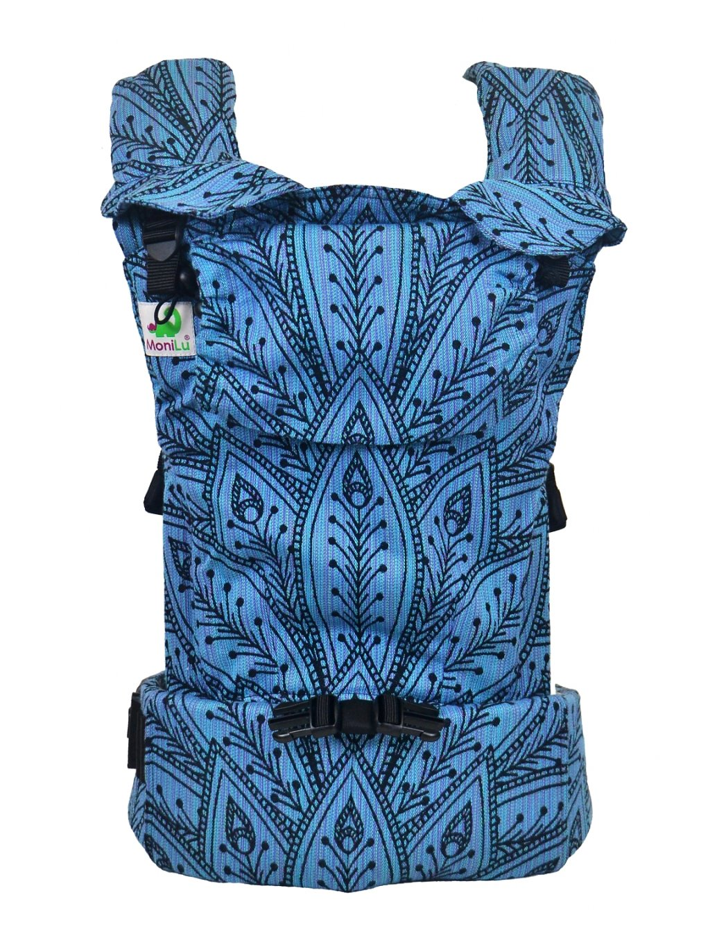 Baby Carrier MoniLu UNI START Peacock Ocean