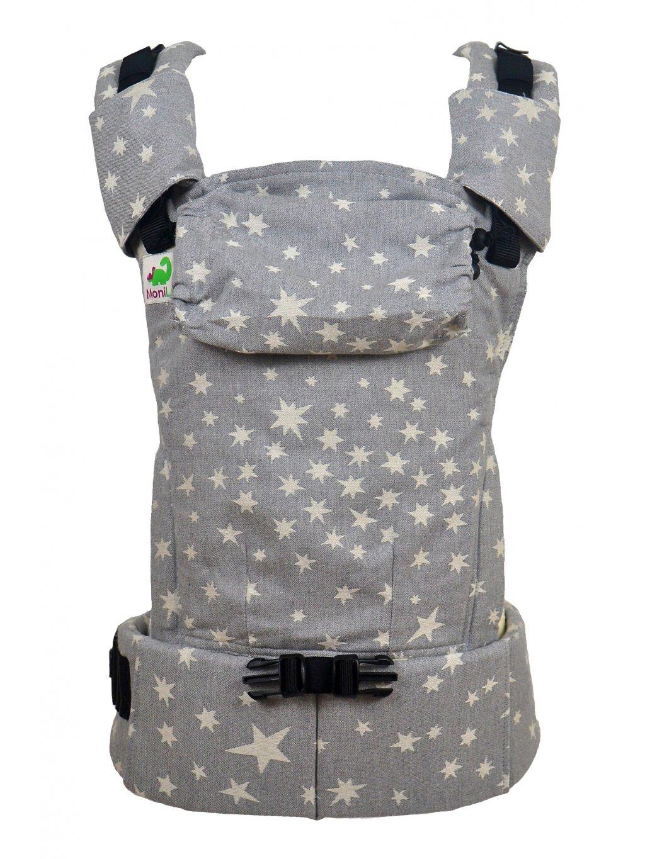 Baby Carrier MoniLu UNI START Smoky Stars
