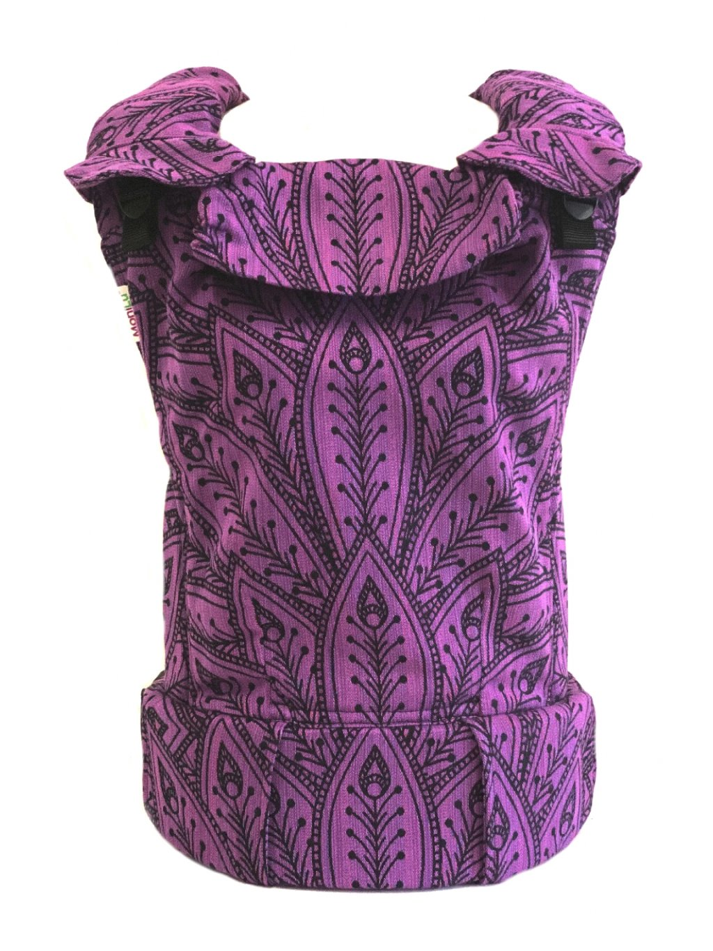 Baby Carrier MoniLu UNI Peacock Lilac