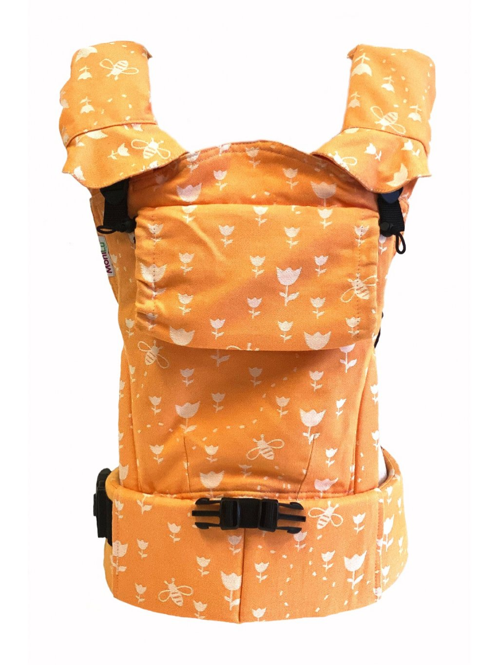 Baby Carrier MoniLu UNI START Tulips Peach