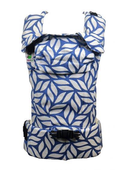 Baby Carrier MoniLu UNI START Leaves Blue