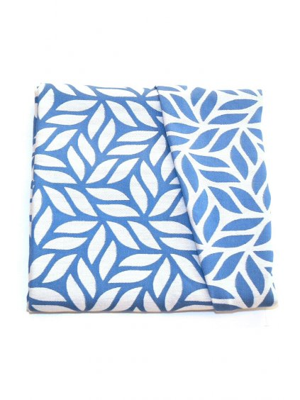 Baby Wrap MoniLu Leaves Blue