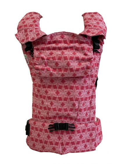 Baby Carrier MoniLu UNI START FlowerField Red