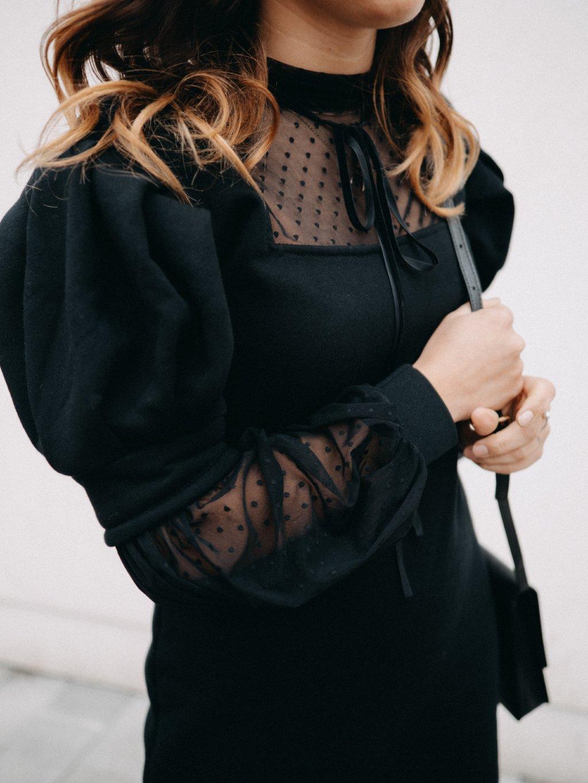 Dámské šaty s tylem FEMME