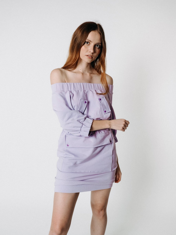 Šaty DOCA violet