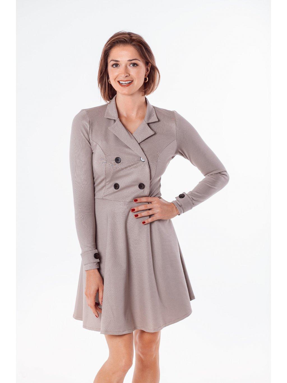 Dámské šaty trench coat Brit